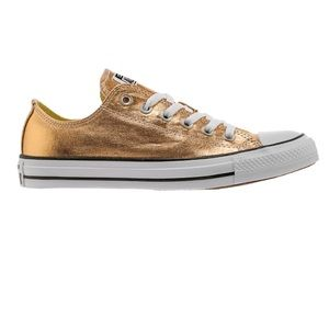 Converse all star chuck taylor low top metallic 9